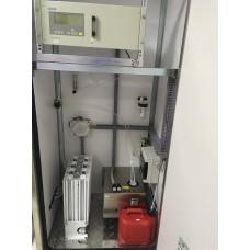 Газоаналитическая система для непрерывного измерения концентрации компонентов СО2 и О2 в дымовых газах